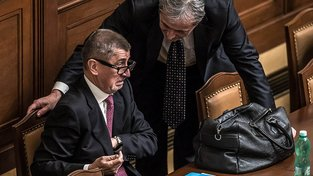 Premiér Andrej Babiš a ministr zahraničí Martin Stropnický