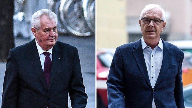 V druhém kole se pravděpodobně utkají  Miloš Zeman a Jiří Drahoš