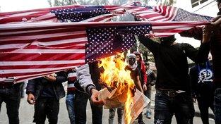 Protesty v Hebronu