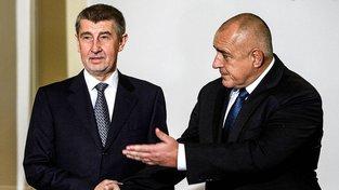 Andrej Babiš a Bojko Borisov