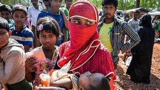 Rohingští uprchlíci v Bangladéši