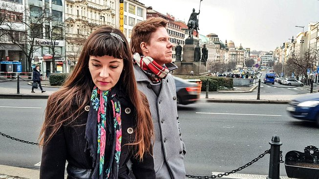 Adéla Hrivnáková a Lukáš Grygar