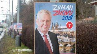 Předvolební kampaň Miloše Zemana