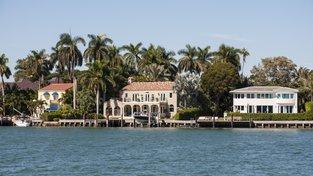 Luxusní nemovitosti na Floridě si je dnes možné koupit i za bitcoiny. Ilustrační snímek
