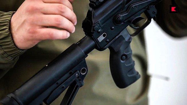 Detail nového samopalu AK-12