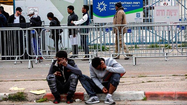 Afričtí migranti v Izraeli