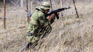 Vojenské cvičení v Jižní Osetii