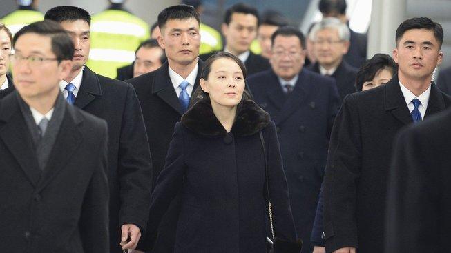 Sestra severokorejského vůdce přiletěla na olympijské hry v Jižní Koreji