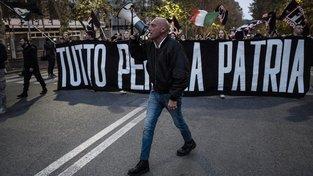 Neofašistické hnutí Forza Nuova má 13 tisíc členů