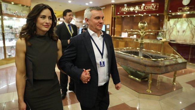 Vratislav Mynář s manželkou