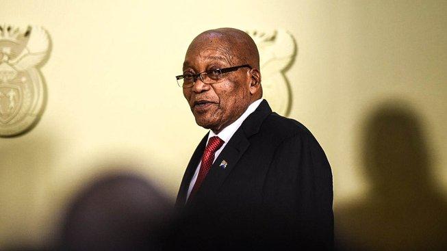 Bývalý prezident Jacob Zuma