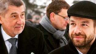 Andrej Babiš a Robert Pelikán