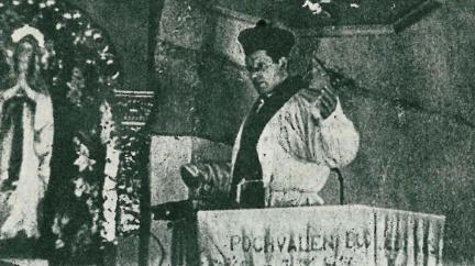 Oběť Číhošťského zázraku: Utýraný kněz Toufar, na jehož přiznání tlačil sám Gottwald