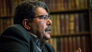 Bývalý vůdce syrských Kurdů Sálih Muslim