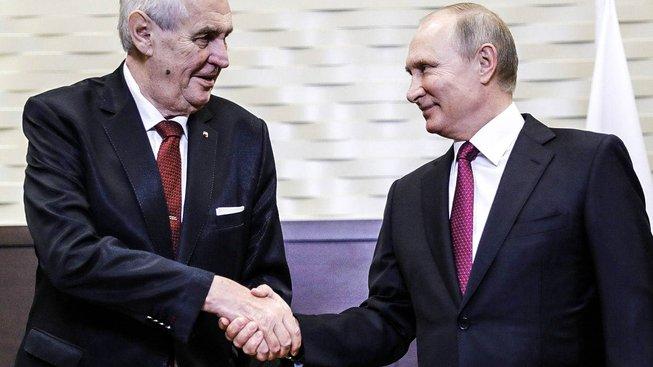 Zeman s Putinem