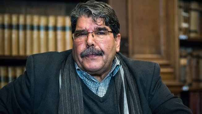 Exvůdce syrských Kurdů Sálih Muslim