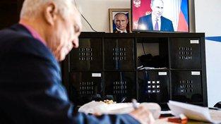 Putin zdůrazňoval arsenál zbraní ruské armády
