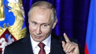 Vítěz nadcházejících voleb Vladimir Putin