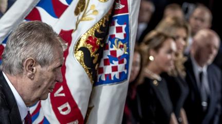 Komentář: Zemanův inaugurační mejdan