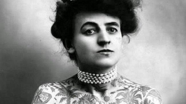 Maud Stevens Wagnerová, první americká ženská tatérka