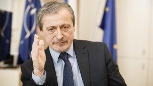 Ministr zahraničí v demisi Martin Stropnický