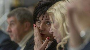 Ministryně financí v demisi Alena Schillerová