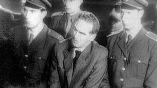 Fotografie z procesu s Rudolfem Slánským