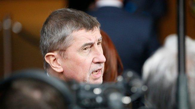 Český premiér v demisi Andrej Babiš
