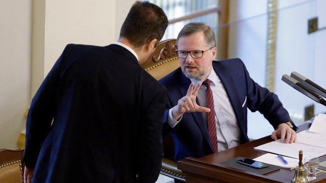 Šéf ODS Petr Fiala