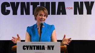 Cynthia Nixonová oznámila kandidaturu na guvernérku státu New York