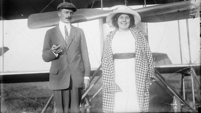 Joseph P. Richter a Božena Laglerová