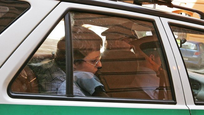 Barbora Škrlová během soudního procesu s aktéry kuřimské kauzy