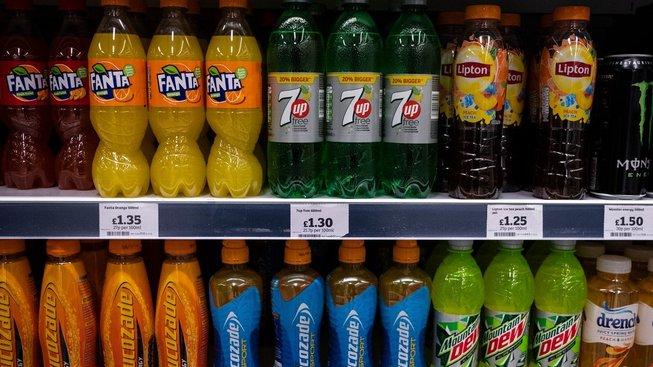 Británie zdanila sladké nápoje