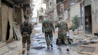 Příslušníci syrské armády, ilustrační snímek
