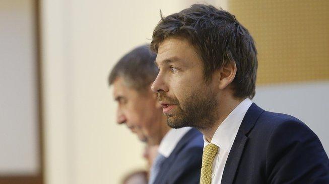 Robert Pelikán a Andrej Babiš