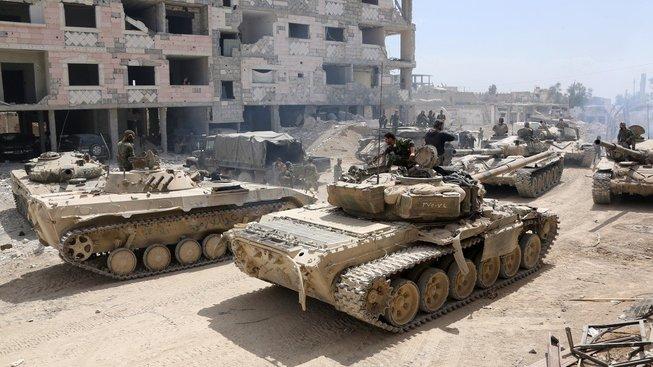 Syrská armáda dobyla celou oblast východní Ghúta