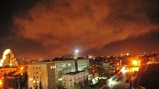 Úder proti Sýrii se konal v noci z pátku na sobotu
