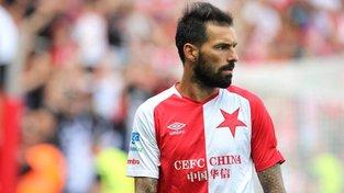 Portugalský fotbalista Danny v barvách SK Slavia Praha