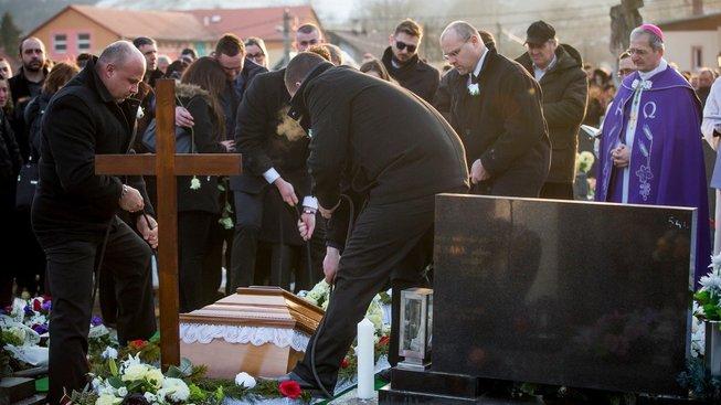 Pohřeb novináře Jána Kuciaka