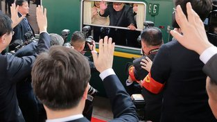Kim Čong-un cestuje obrněným vlakem, dojel by v něm až do Prahy?
