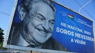 Proti americkému finančníkovi vede maďarská vláda dlouhodobou kampaň