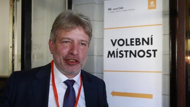 Místopředseda ČSSD Roman Onderka