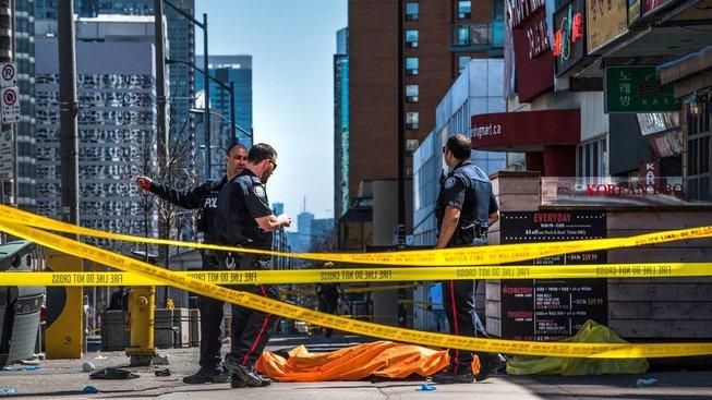 Řidič dodávky zabil devět lidí
