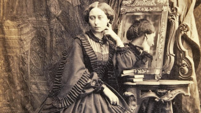 Princezna Alice, dcera královny Viktorie na fotografii Camille Silvy