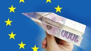 Na dotace a vůbec na bruselské instituce si připlatíme