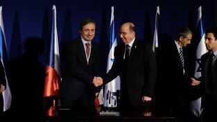 Martin Stropnický s izraelskou delegací