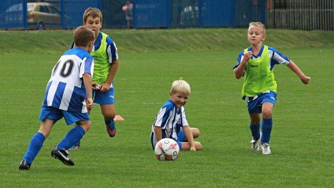 Malí fotbalisté, ilustrační snímek
