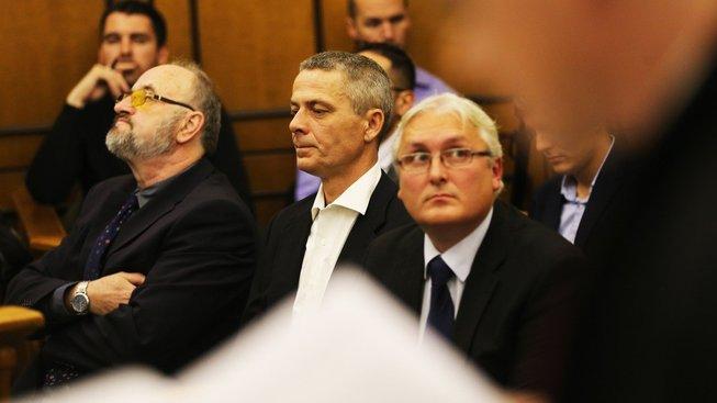 (Zleva) Jan Škurka, Pavel Kuta, Rudolf Doucha