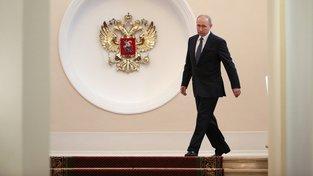Vladimir Putin při své inauguraci