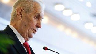 Zeman odmítl jmenovat šéfa BIS generálem. Prý kvůli zprávě o novičoku